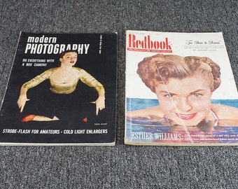 Vintage Collevtion Of Assorted Magazines Set Of 2 C.1951
