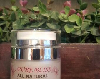 Sample All natural Vitamin Rich Face Cream, 68% organic sample size