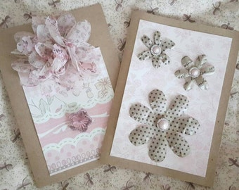 Handmade blank embellished cards, greeting cards, any occasion cards, gift card