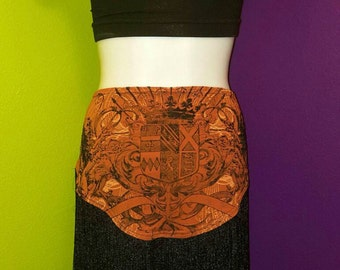 Royal Leo ready to ship bellydance hipscarf