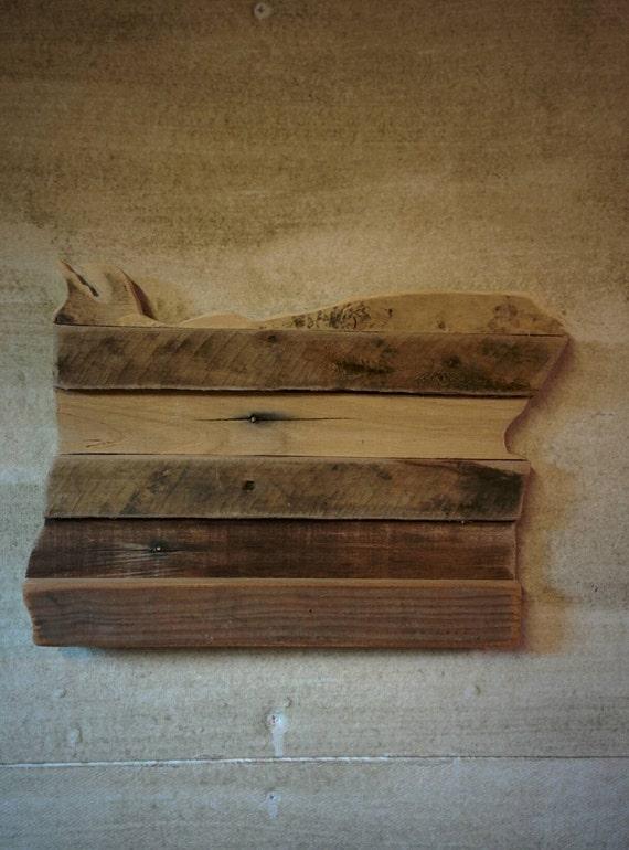 Oregon reclaimed wood cutout for Reclaimed wood oregon