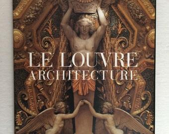 Le Louvre Architecture Hardcover Book With Dust Jacket - Memoire De L'Art - French Book - Louvre Museum