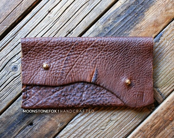 The Fawn Clutch No.1, leather clutch, minimalist clutch