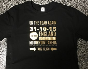 One Direction otra wwa tmh uan Tour tee / t-shirt