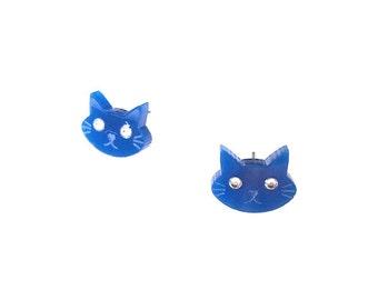 Cat Stud Earring