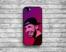 Drake case - black / iPhone 4/4S iPhone 5/5S iPhone 5c iPhone 6/6s iPhone 6 Plus/6s Plus NAT-036