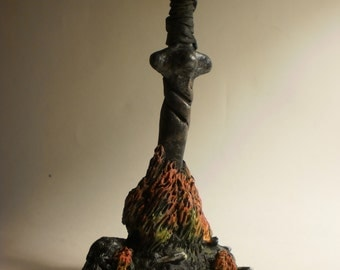 Sword in Bonfire Sculpture