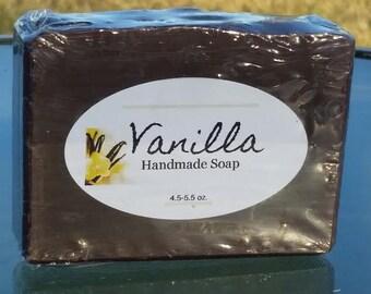 Handmade Vanilla Soap