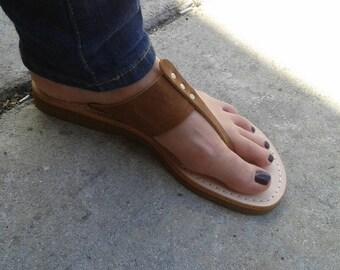 Handmade 100% genuine leather sandals