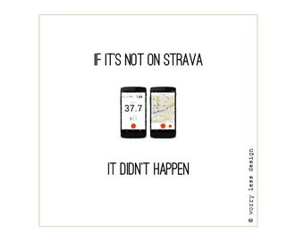 Cycling Card - If it's not on Strava