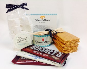 S'Mores Kit - with tabletop toaster and free shipping - by Cloud Nine Marshmallows