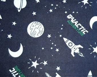 "Galactic flannel fabric, 100cm (1 m) (39 "")"