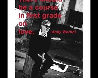 Warhol, Andy - 'First Grade'  11x14 - Framed