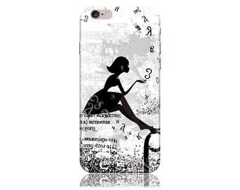 iPhone 6 Case - iPhone 6s Case #Dandelion Girl Cool Design Hard Phone Case
