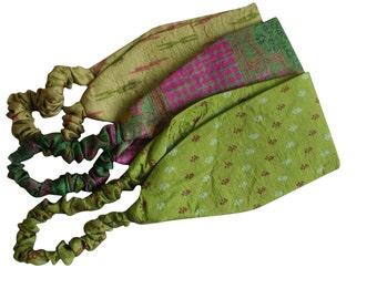 Upcycled Sari Headbands