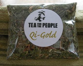 QI GOLD herbal tea