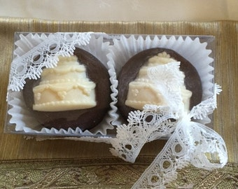 Wedding Cake Chocolate Covered Oreo Favors