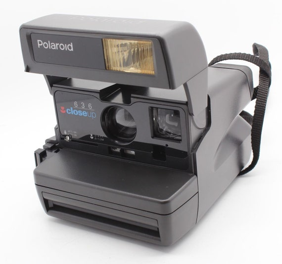 polaroid 636 close up instant camera with box uses. Black Bedroom Furniture Sets. Home Design Ideas