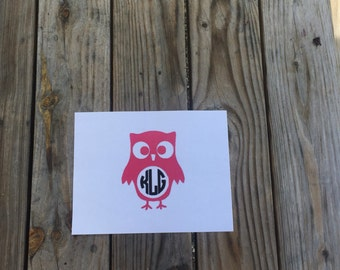 Owl Iron-On Vinyl Decal~ Glitter Iron-On Vinyl Decal~ Iron-On Vinyl Decal