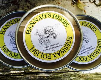 Hannah's Herbs Beeswax Polish