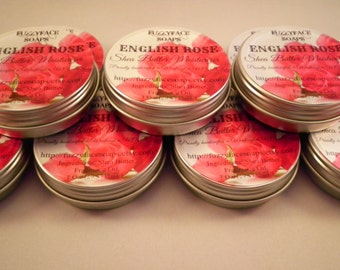 ENGLISH ROSE Shea Butter Skin Moisturizer