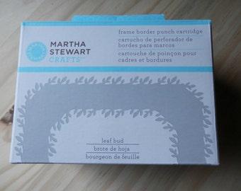 Leaf Bud frame border punch cartridge by Martha Stewart Crafts NIB unused craft supply Paper Punch