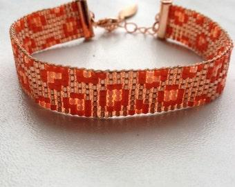 Miyuki delica bracelet!