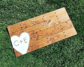 Custom Initial Wedding Sign/Guestbook