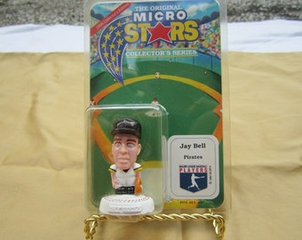 The Original Micro Stars-Jay Bell-Pittsburgh Pirates-Baseball Collectible-Never Been Opened!
