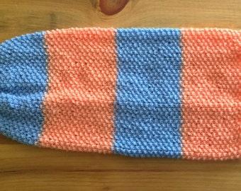 Baby Cocoon, Knit Baby Sack, Baby Wrap