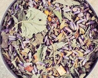 Lavender Delight  Herbal Tea - dried herbal tea - dried herbs - caffeine free - dried lavender - organic herbal teas