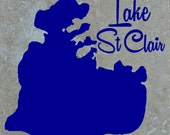 Set of 4 Lake St Clair Coasters