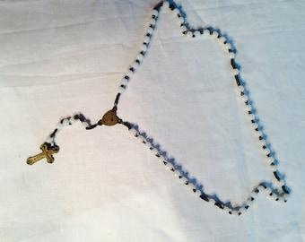 Antique bead Rosary