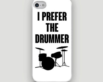 I Prefer The Drummer - Fangirl - Full printed case for iPhone - by HeartOnMyFingers - ANT-005