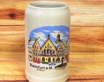 German Beer Stein Frankfurt.  Box 50