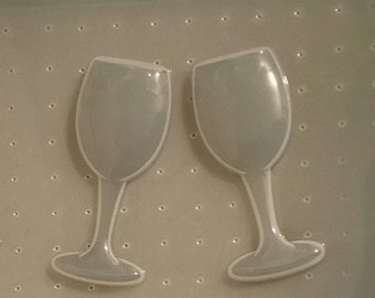 Cheers Wine Glasses Mold