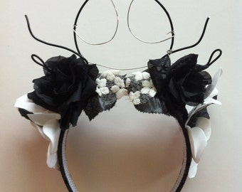 Jack Skellington Flower Crown