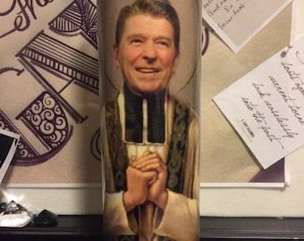 St Ronald Reagan Prayer Candles