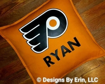 Personalized Philadelphia Flyers Pillow