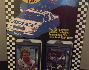 1991 NASCAR Maxx Complete 240 Trading Card Set