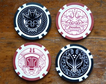 Oni - Poker Chip Pack