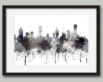 Melbourne, Victoria, Australia Skyline - CRISP