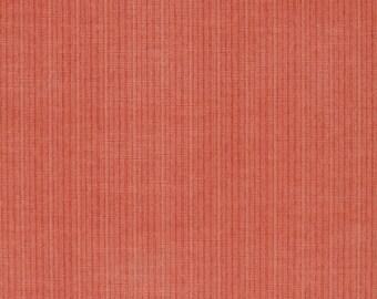 DESIGNER ANTIQUE STRIE Velvet Fabric 10 Yards Coral