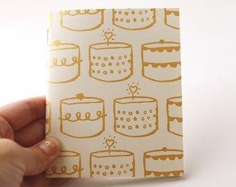 SINGLE - Cake notebook