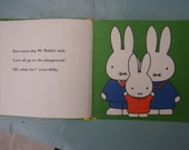 Miffy at the play-ground Dick Bruna 1982