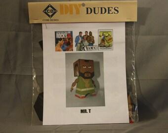 DIY Dude: Mr. T, Paper Crafts