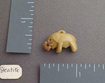 Steatite Elephant (soapstone)