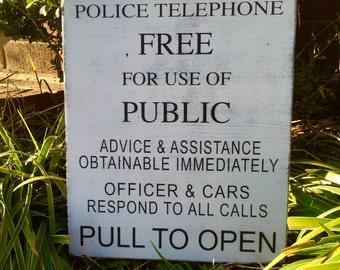 Public Telephone, Police Box, Doctor Who, Tardis