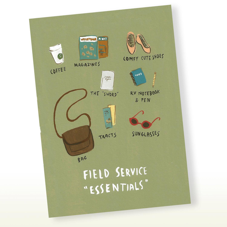 Wedding Witness Gifts: JW Field Service Essentials Greeting Card JW Gift Pioneer