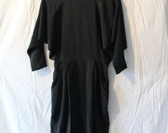Vintage Bat Wing Dress